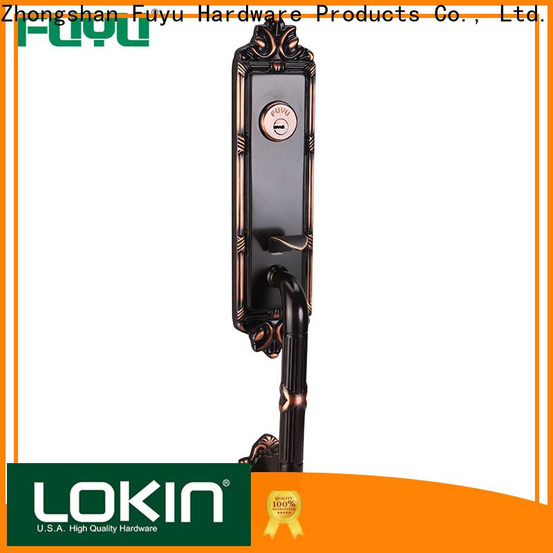 FUYU american inside door locks with latch for shop