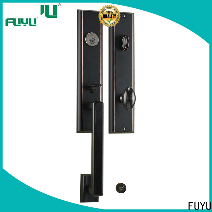 FUYU chinese anti-theft zinc alloy door lock with latch for indoor