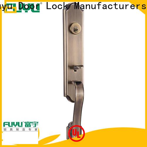 FUYU durable zinc alloy door lock for wood door on sale for indoor