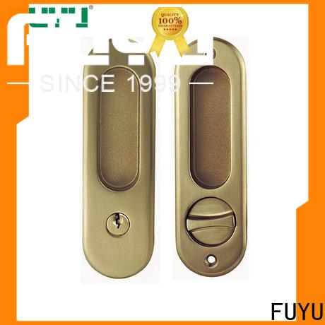 FUYU slide door lock manufacturer for mall