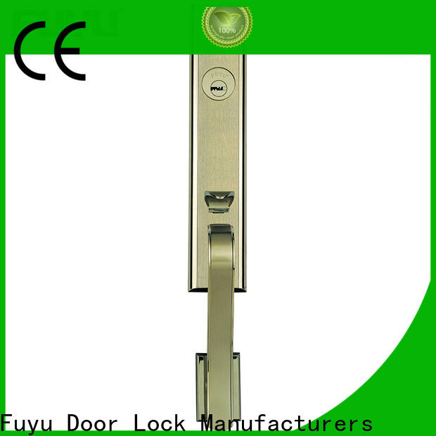 FUYU oem high security door locks manufacturers for mall