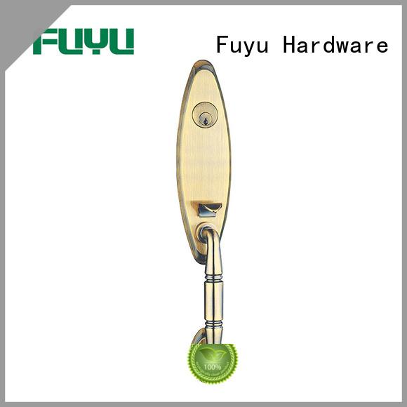 FUYU quality zinc alloy entry door lock sale for entry door