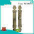 brass door locks and handles install zinc gold FUYU Brand company