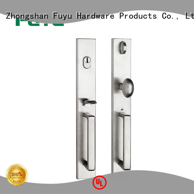 FUYU security stainless steel mortice lock door home
