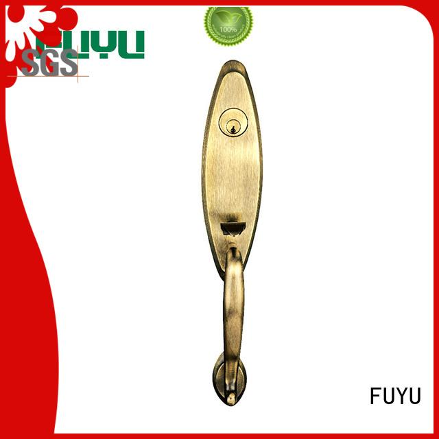 FUYU wood zinc alloy door lock for wooden door meet your demands for entry door