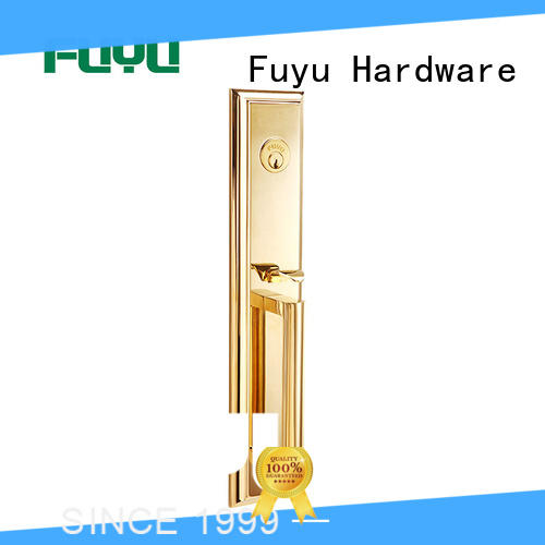 FUYU online brass door knob with lock meet your demands for shop