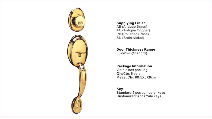 FUYU custom handle door lock manufacturer for shop-3