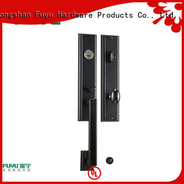FUYU high security zinc alloy door lock for timber door quantity for shop
