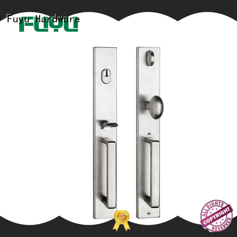 Quality FUYU Brand lock entry stainless door lock