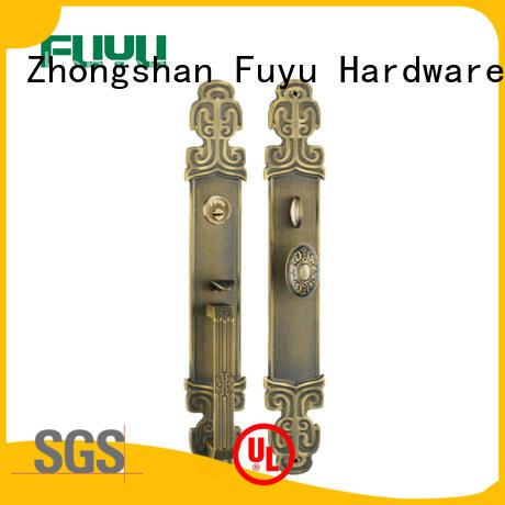 quality custom brass door lock antipanic with latch for mall