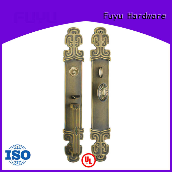 FUYU luxury brass door knob with lock meet your demands for shop