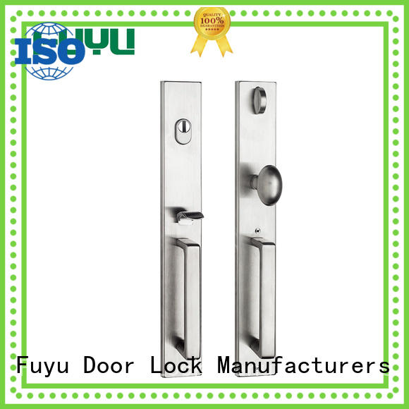 FUYU egg stainless steel lock extremely security for wooden door