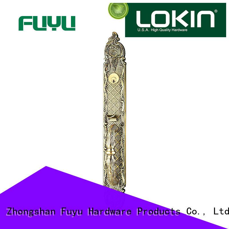 zinc alloy handle door lock mortise home FUYU