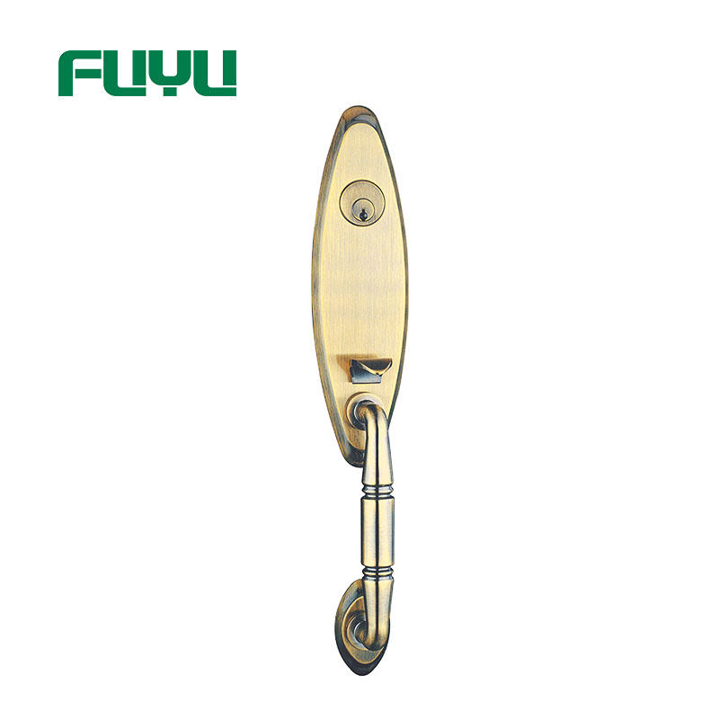 FUYU profile zinc alloy door lock with latch for mall-1