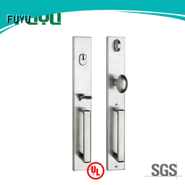 FUYU door stainless steel gate lock with international standard for home