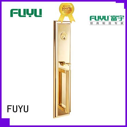 durable door lock hardware finish with latch for wooden door
