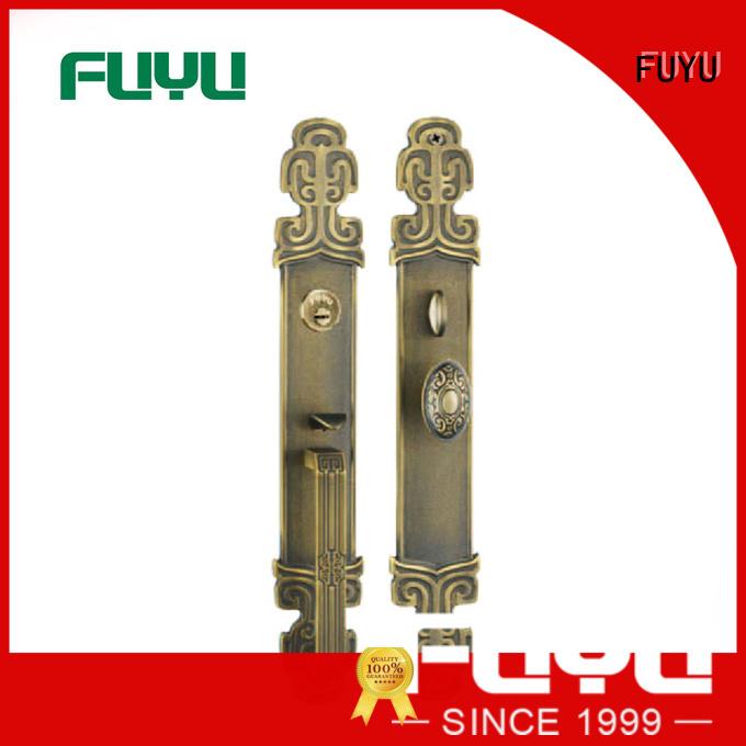 material brass mortice lock locks for shop FUYU