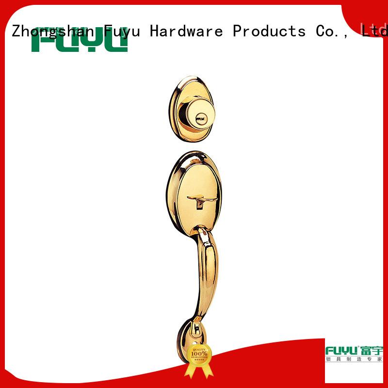 FUYU custom handle door lock manufacturer for shop