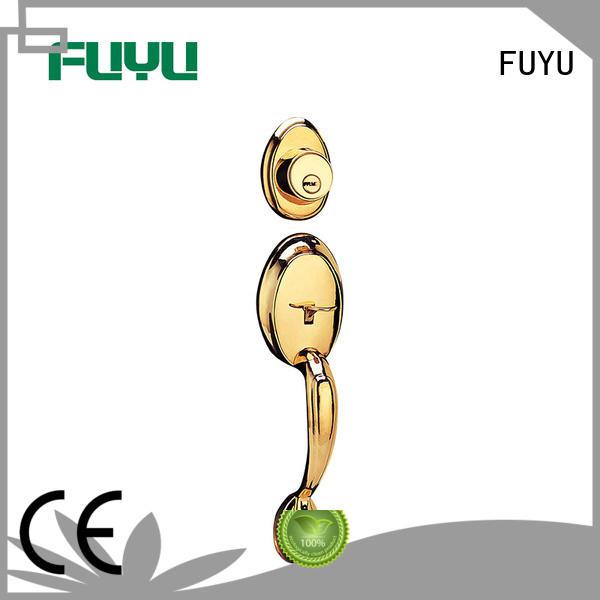 quality zinc alloy villa door lock meet your demands for entry door FUYU