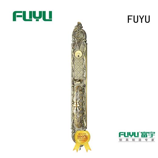 FUYU front door lock design meet your demands for shop