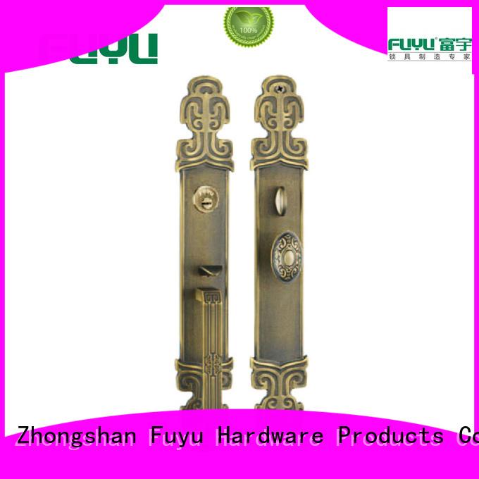 locks brass door locks and handles main for shop FUYU