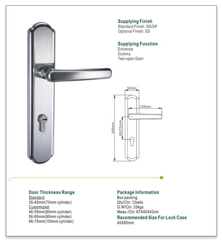 FUYU electric modern door locks with international standard for shop