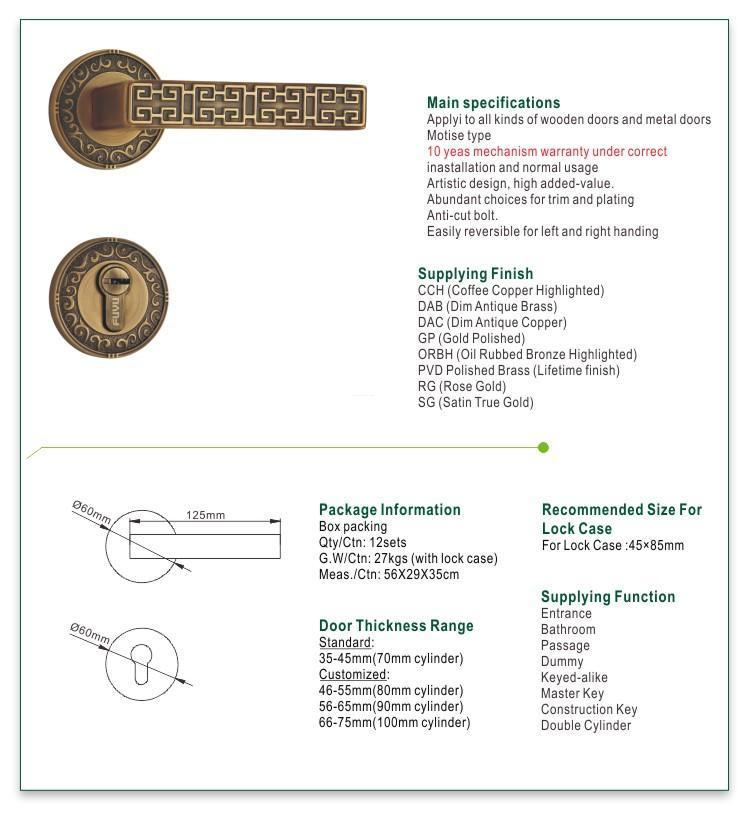 FUYU quality house locks manufacturer for shop
