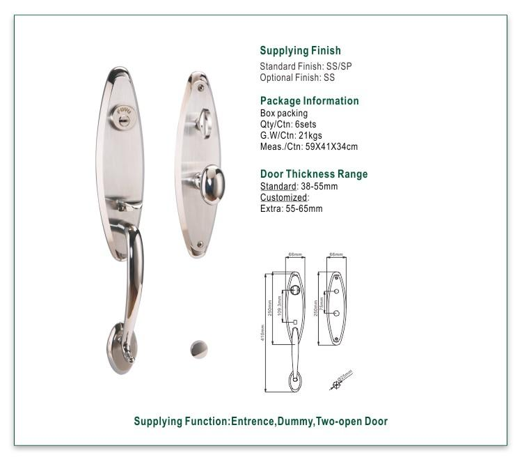 quality stainless door lock stainless with international standard for mall-1