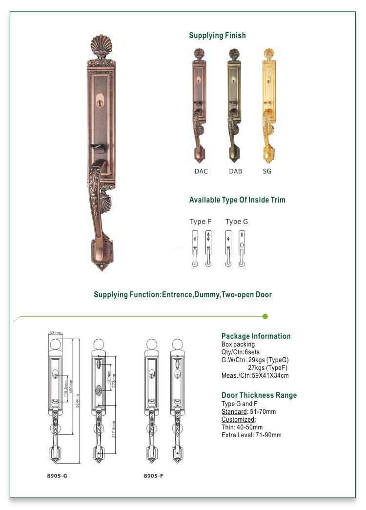 FUYU entry door locks for sale for wooden door-1