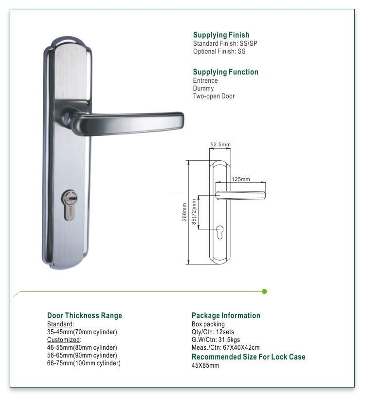 oem mortise door lock extremely security for entry door-1