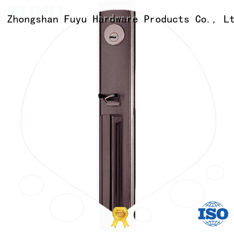 FUYU high security zinc alloy door lock for wood door meet your demands for entry door