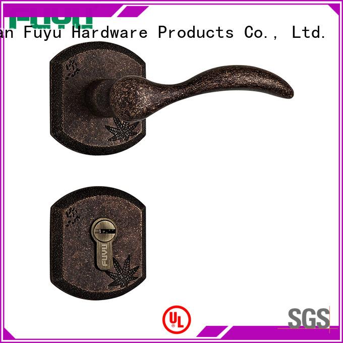 online door lock hardware door with latch for shop