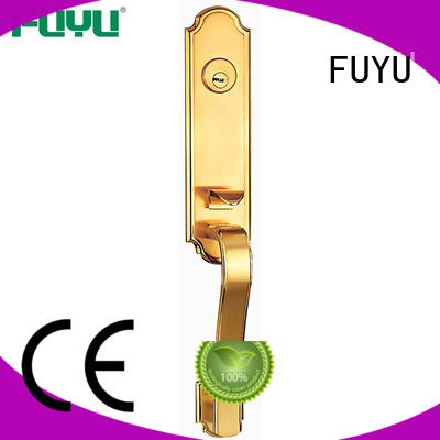 FUYU metal mortise lock installation meet your demands for shop