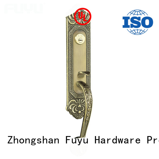 FUYU durable lock manufacturing with international standard for entry door
