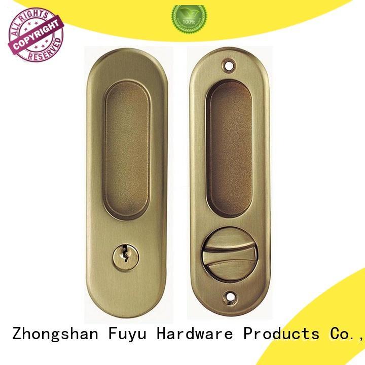 FUYU made zinc alloy mortise door lock on sale for indoor