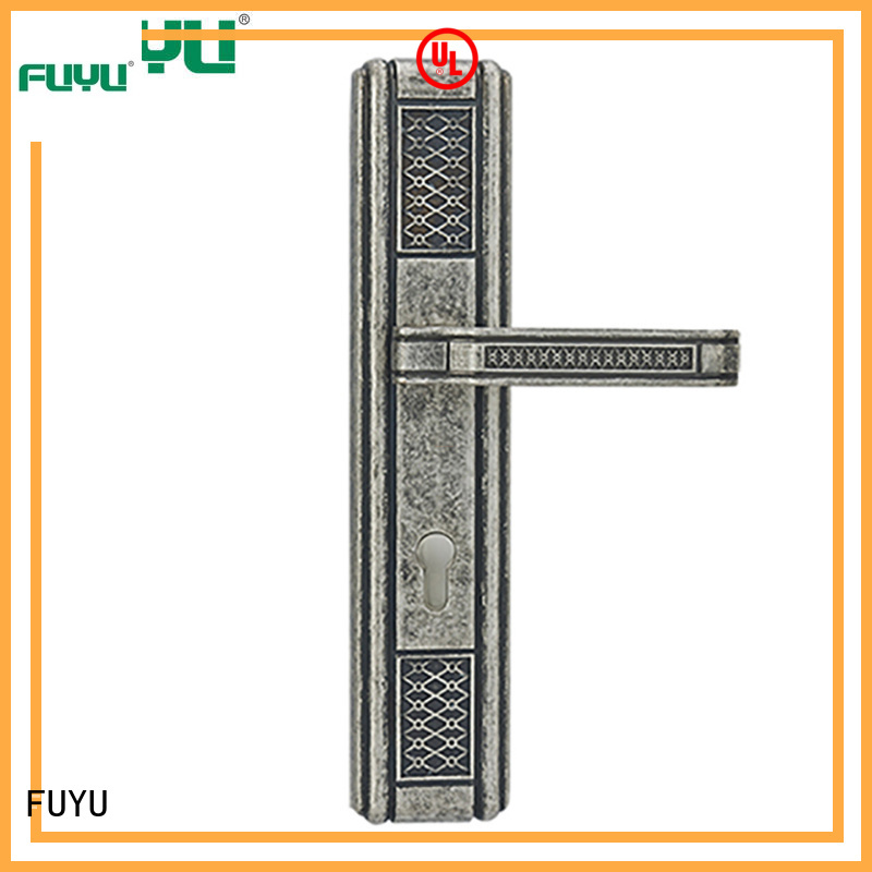 high security door lock design solid on sale for mall