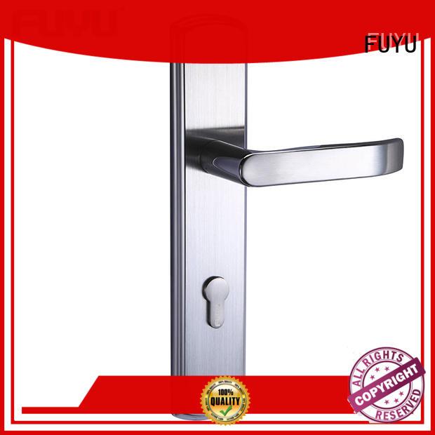 high security mortise door handle with international standard for wooden door