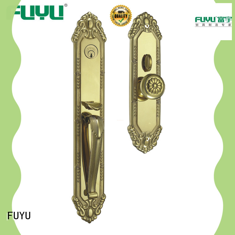 FUYU durable residential door locks with latch for shop
