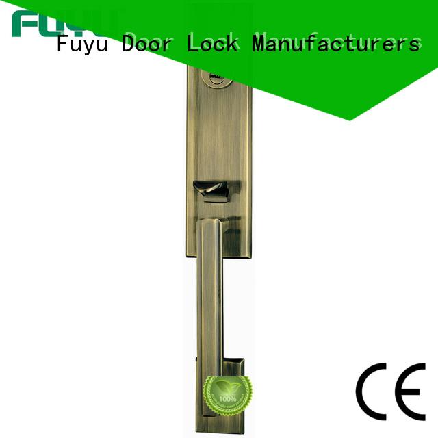 luxury mortise door handle zinc with latch for home