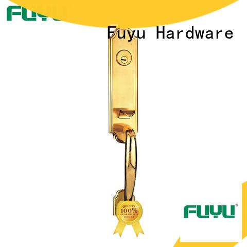 FUYU durable zinc alloy door lock residence for mall