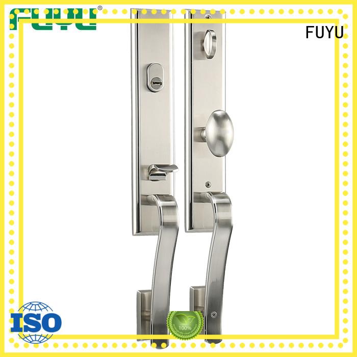 FUYU turn zinc alloy door lock for timber door meet your demands for indoor