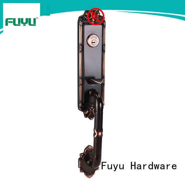 brass front door locks handle for home FUYU