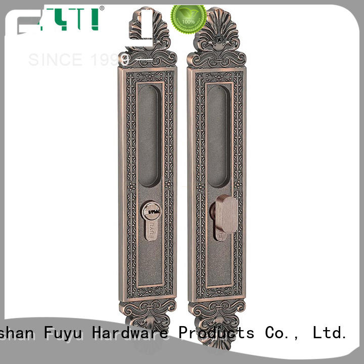 FUYU slide door lock for sale for shop