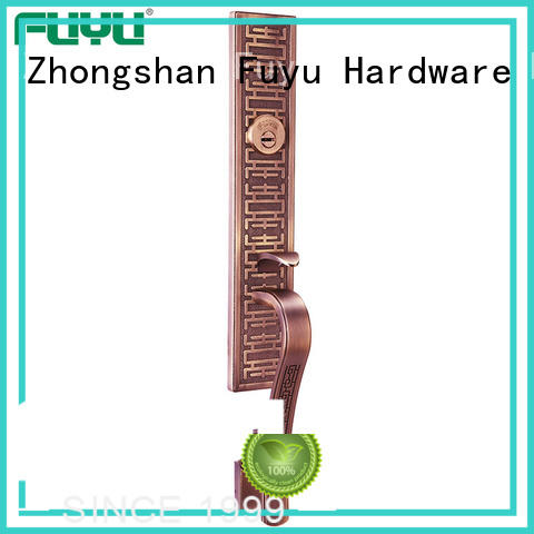 FUYU lokin exterior mortise lock set with hardness for home