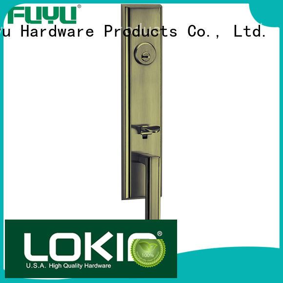 FUYU high security zinc alloy door lock for wood door meet your demands for shop