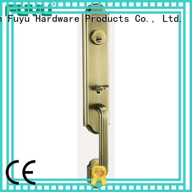 FUYU kits zinc alloy door lock with latch for shop