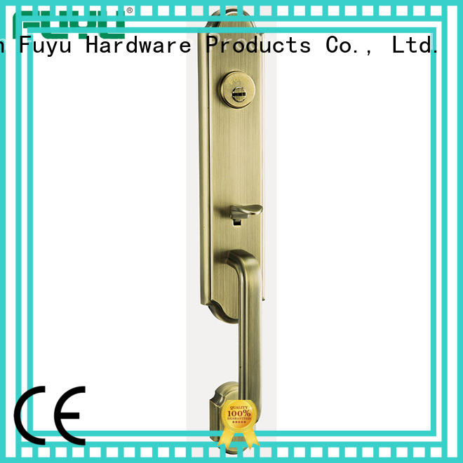 FUYU kits zinc alloy door lock with latch for shop
