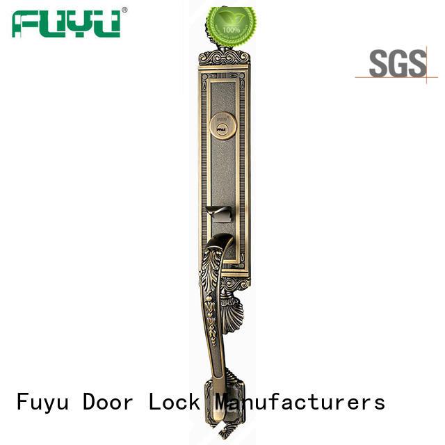 high security zinc alloy door lock for timber door multipoint on sale for shop