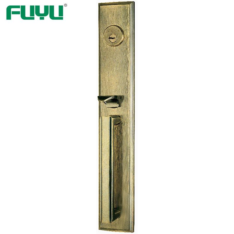 Top Security American Mortise Cylinder Type Main door Big Handle Lock