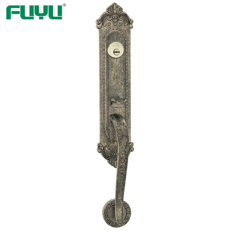 Top Security Double Side Open Cylinder Mortise Grip Handle Door Lock